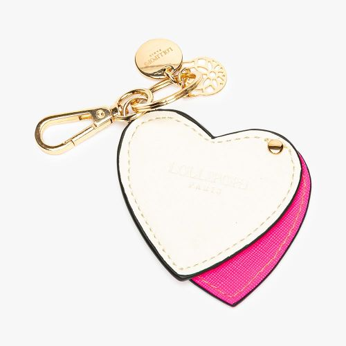 Porte-clés rose coeur Flambeur