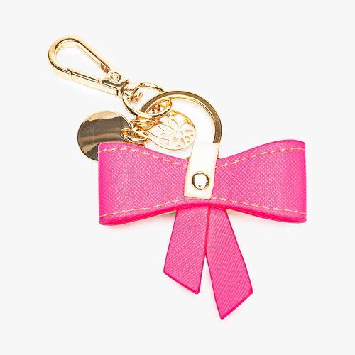 Porte-clés nœud rose Flambeur
