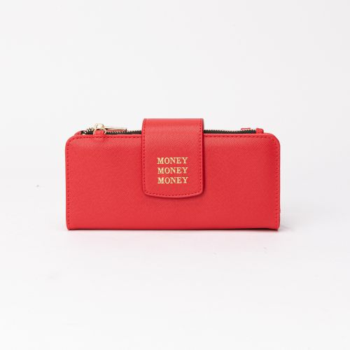 Portefeuille Elove rouge