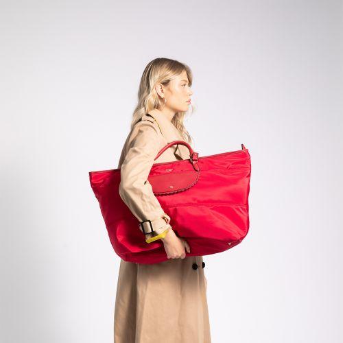Sac week-end rouge G-Leona : Lollipops sacs et maroquinerie