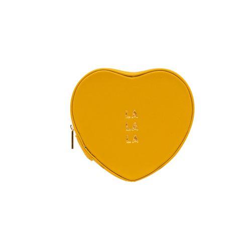 Boite à bijoux coeur jaune Grace