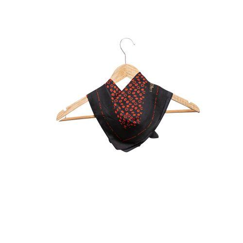Foulard noir en soie G-Love