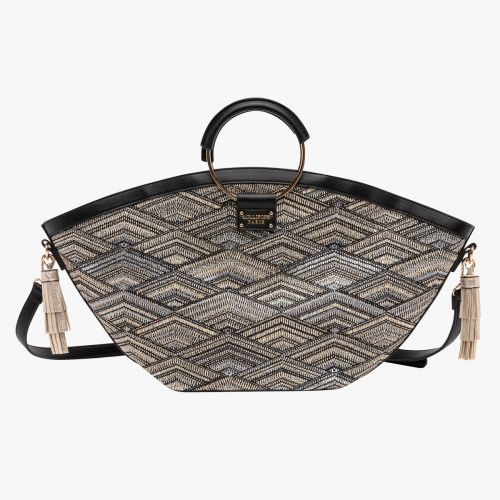 Sac shopper noir G-Faon