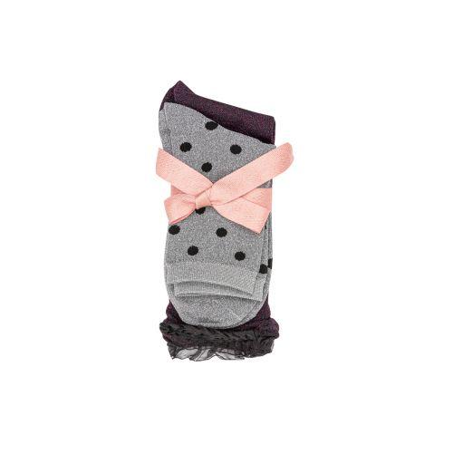 Lot de 2 paires de chaussettes grises/noires G_SOCKS