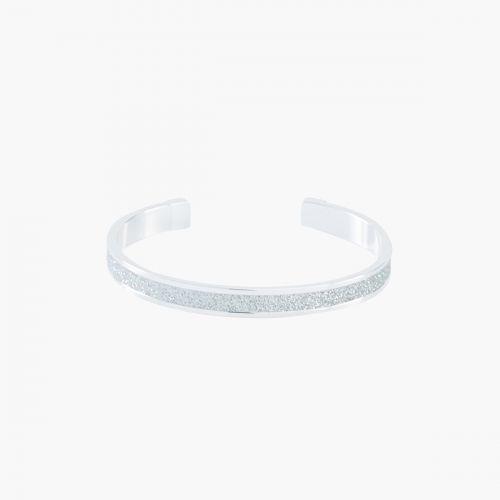 Bracelet manchette glitter