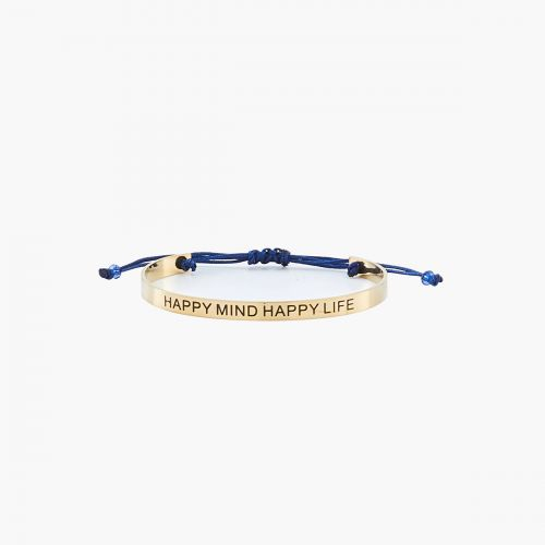 Bracelet manchette Happy mind