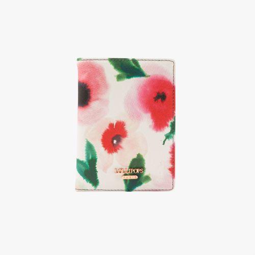 Etui pour passeport à fleurs Healthy