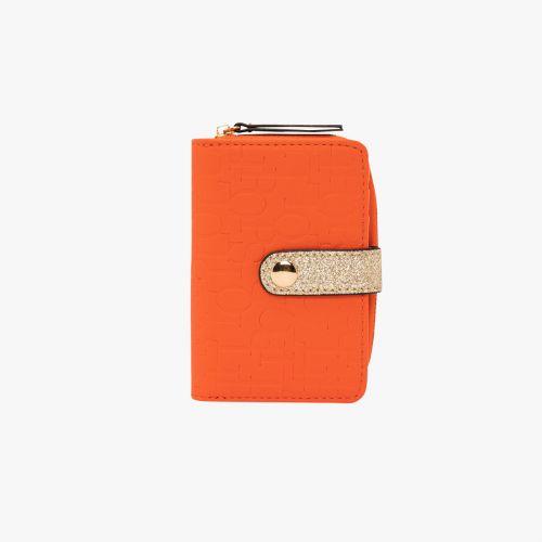 Porte-monnaie orange Hélène