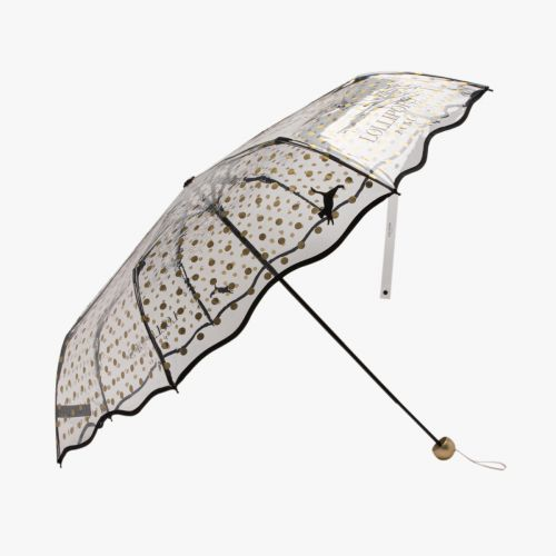 Parapluie pliant transparent Hoopy