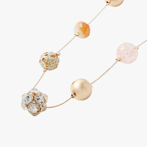 Sautoir à perles fantaisie