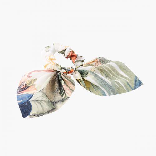 Chouchou foulard tropicale