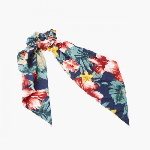 Chouchou foulard floral
