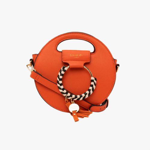 Petit sac rond orange H-Eropi