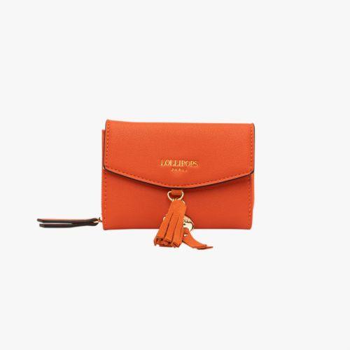 Porte-monnaie orange H-Eropi