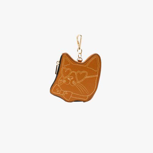 Porte monnaie/tote-bag camel Icare