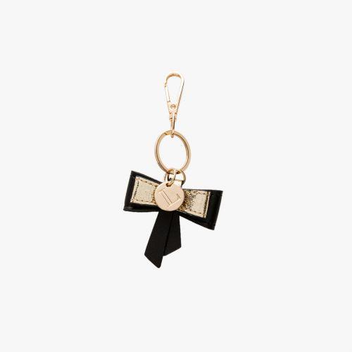 Porte-clés nœud noir Isaac
