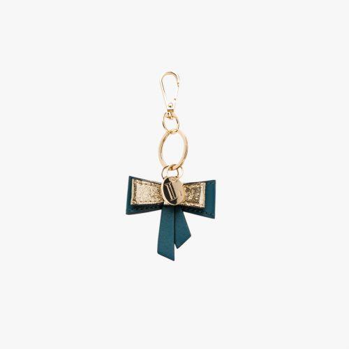 Porte-clés nœud vert Isaac