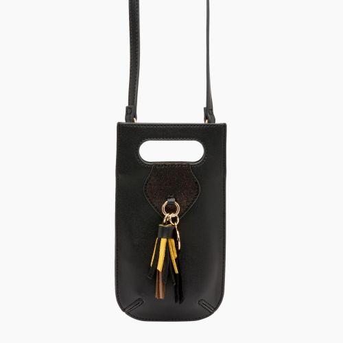 Pochette portable noir Isis