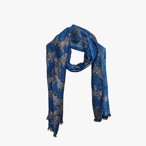 Echarpe bleue Ivory