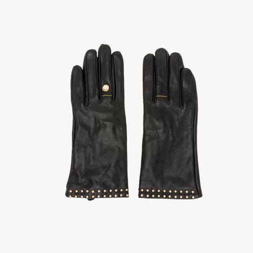 Gants noirs S/M I-Bague
