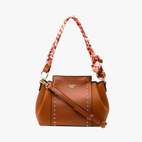 Petit sac à main camel Iconic