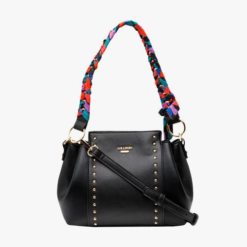 Petit sac à main noir Iconic