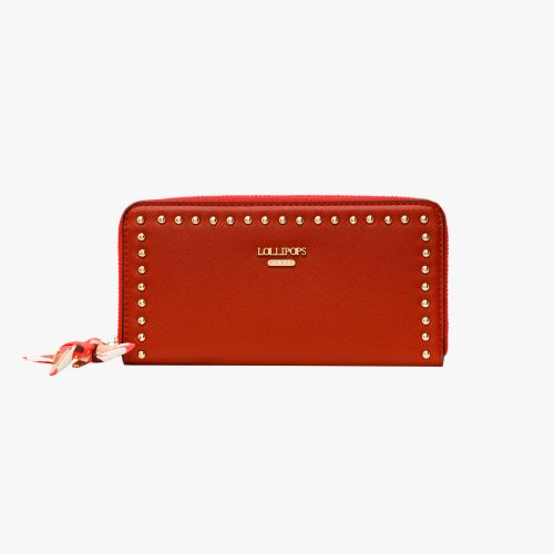 Portefeuille rouge Iconic