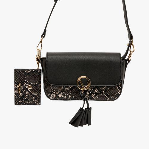 Petit sac bandoulière noir Ily