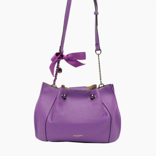 Sac bandoulière violet I-Gemma