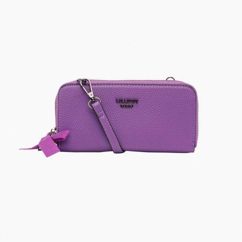 Portefeuille violet I-Gemma