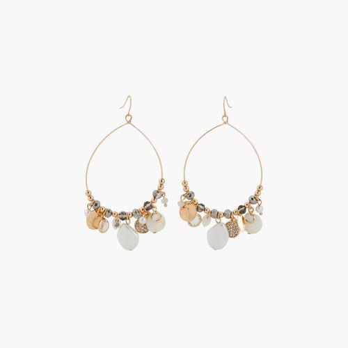 Boucles d'oreilles perles fantaisie