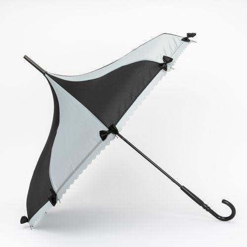 Grand parapluie pagode noir