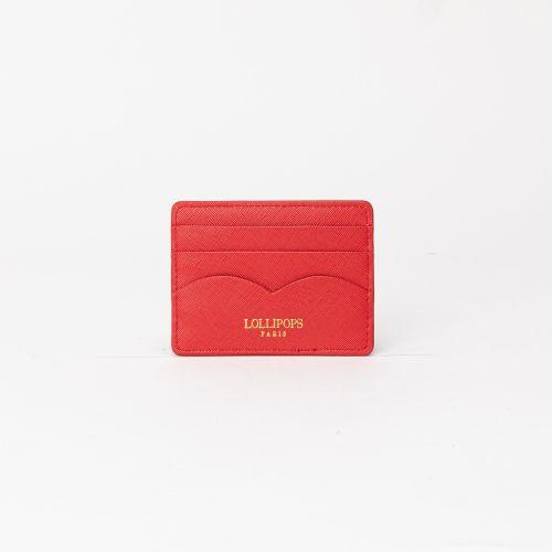 Porte carte Elove rouge