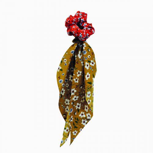 Lots de deux chouchous foulard Scrunchie