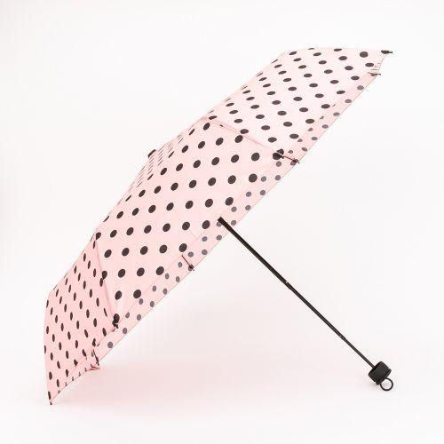 Parapluie à pois rose