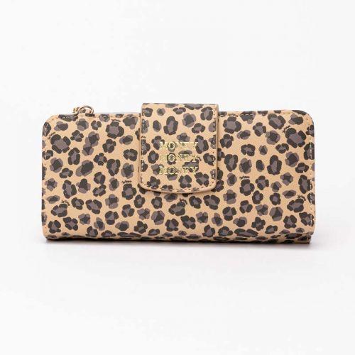 Portefeuille Elove léopard