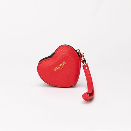 Porte-monnaie Elove cœur rouge